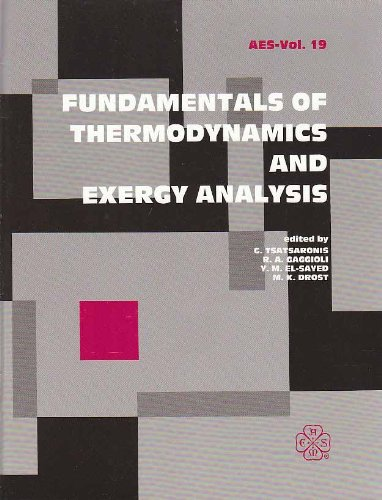 Fundamentals of Thermodynamics and Exergy Analysis