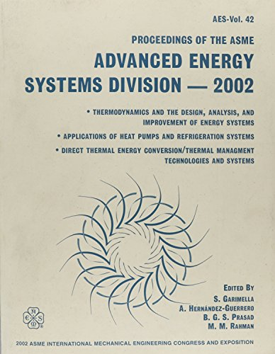 Advanced Energy Systems Division Proceedings ASME International: Asme Conference Proceedings