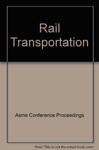 9780791837276: Rail Transportation (I00696)