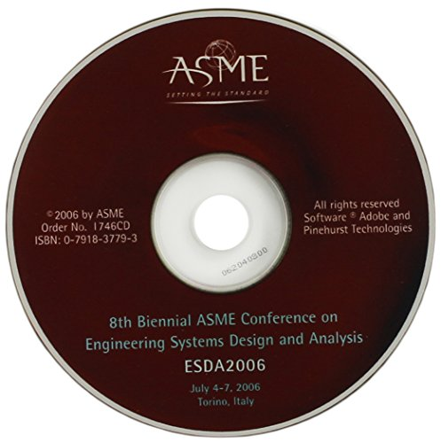 9780791837795: Proceedings of the 8th Biennial Asme Conference on Engineering Systems Design and Analysis: CD-ROM