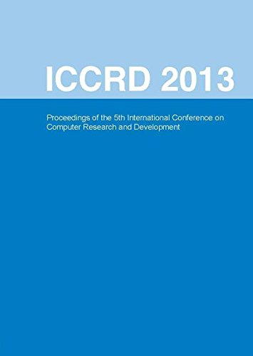 9780791860182: International Conference on Computer Research and Development: ICCRD 2013