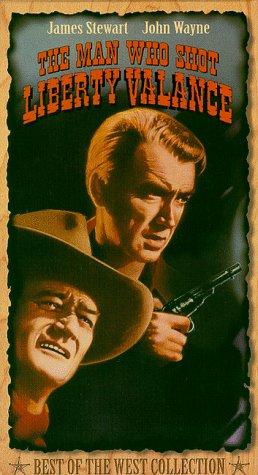 9780792106982: The Man Who Shot Liberty Valance [VHS]