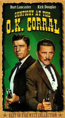 9780792109525: Gunfight at the O.K. Corral [VHS]