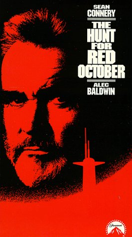 The Hunt for Red Oct. - VHS Video