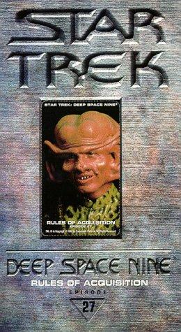 9780792145561: Star Trek - Deep Space Nine, Episode 27: Rules of Acquisition [VHS]