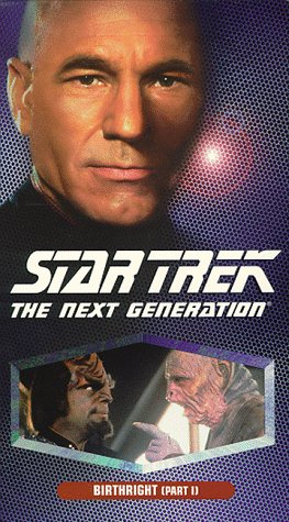 9780792146988: Star Trek - The Next Generation, Episode 142: Birthright, Part I [VHS]