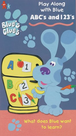 9780792153672: Blue's Clues - ABC's and 1,2,3's [VHS]