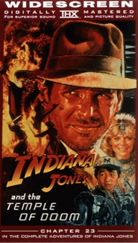 9780792157854: Indiana Jones and the Temple of Doom (Widescreen Edition) [VHS]