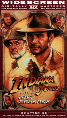 9780792157861: Indiana Jones and the Last Crusade (Widescreen Edition) [VHS]