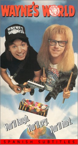 9780792165736: Wayne's World [VHS]