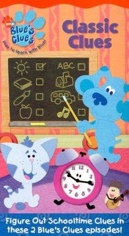 9780792196679: Blue's Clues - Classic Clues [VHS]