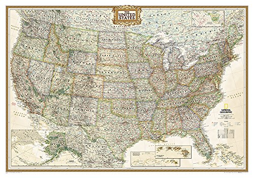 9780792233787: United States Executive [Laminated] (National Geographic Reference Map)