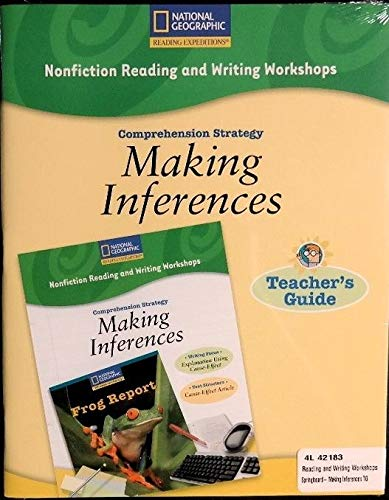 9780792235576: Nonfiction Reading and Writing Workshops Springboard: Making Inferences Teacher's Guide