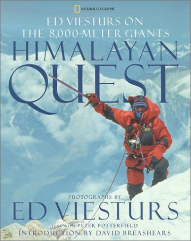 9780792241652: Himalayan Quest: Ed Viesturs on the 8,000-Meter Giants