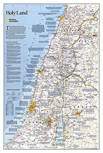 9780792249719: Holy Land, tubed : Wall Maps History & Nature: NG.P620044 (Reference - History & Nature)