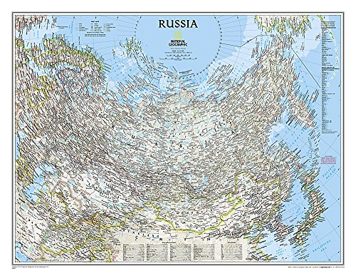 9780792249832: Russia Classic [Tubed] (National Geographic Reference Map)