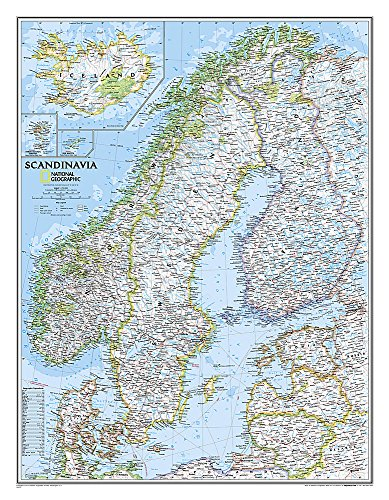 9780792249856: Scandinavia Classic, Laminated: Wall Maps Countries & Regions: NG.P622072 (National Geographic Reference Map)