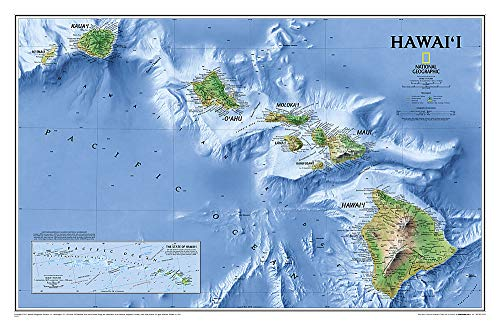9780792250036: Hawaii [Laminated] (National Geographic Reference Map)