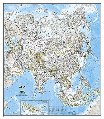9780792250142: Asia Classic [Laminated] (National Geographic Reference Map)