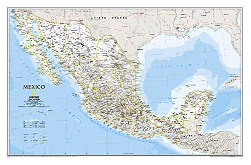 9780792250296: Mexico Classic [Laminated] (National Geographic Reference Map)