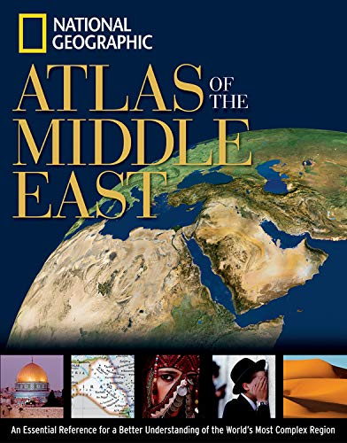 National geographic society used books rare books and new books national geographic atlas of the middle east 9780792250661 by national geographic society national gumiabroncs Choice Image