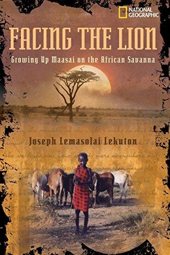 9780792251255: Facing the Lion: Growing Up Maasai on the African Savanna