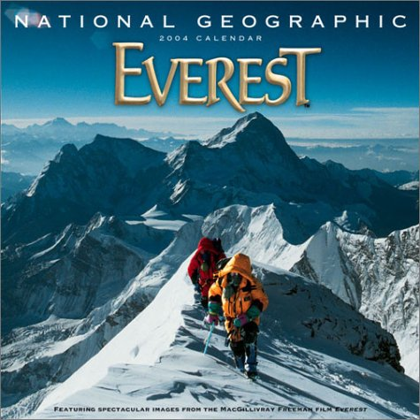 Nat Geo Everest Wall 2004 (9780792251620) by Calen