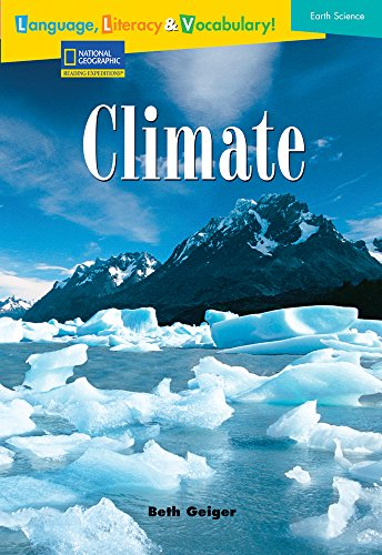 9780792254263: Language, Literacy & Vocabulary - Reading Expeditions (Earth Science): Climate (Avenues)