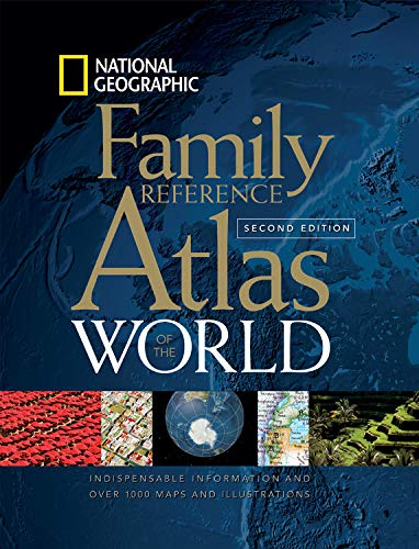 9780792255673: National Geographic Family Reference Atlas of the World, Second Edition