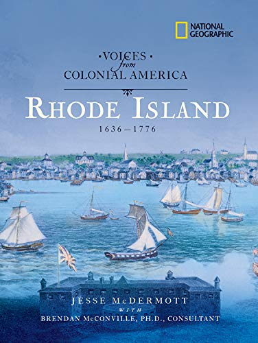 Voices from Colonial America: Rhode Island 1636-1776: McDermott, Jesse
