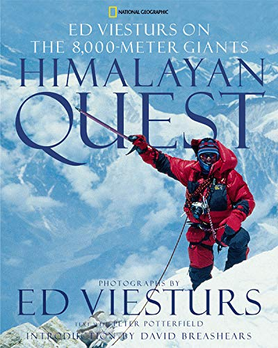 9780792268840: Himalayan Quest: Ed Viesturs on the 8,000-Meter Giants