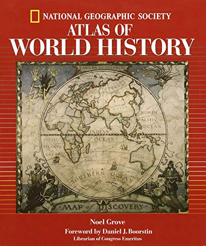 9780792270485: National Geographic Atlas Of World History