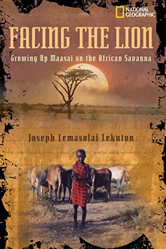 9780792272977: Facing the Lion: Growing Up Maasai on the African Savanna