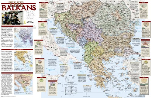 9780792280026: Balkans Reference Map (Reference - Countries & Regions)
