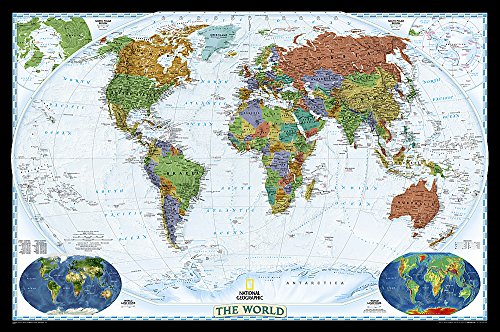 9780792280866: World Decorator [Tubed] (National Geographic Reference Map)