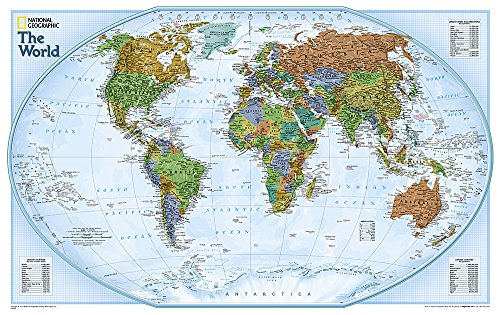 9780792280910: World Explorer [Tubed] (National Geographic Reference Map)