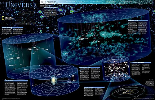 The Universe [Tubed] (National Geographic Reference Map)
