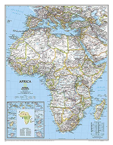 9780792281030: Africa Classic [Tubed] (National Geographic Reference Map)