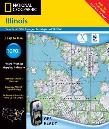 9780792284109: National Geographic Topographical Idaho