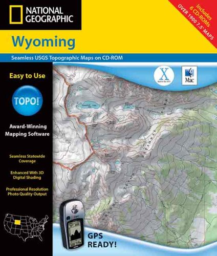 National Geographic Topographical Wyoming (9780792284116) by National Geographic Society (U.S.)
