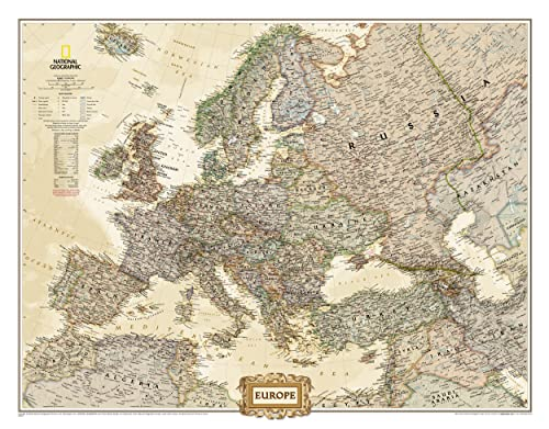 9780792289814: Europe Executive (National Geographic Reference Map)