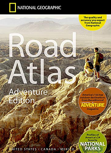 9780792289890: National Geographic Road Atlas - Adventure Edition
