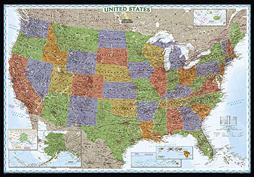 United States Decorator [Tubed] (National Geographic Reference Map): National Geographic Maps - ...