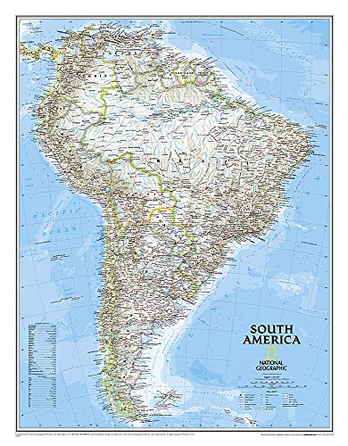 9780792296799: South America Classic (National Geographic Reference Map)