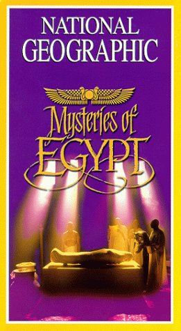 9780792297529: National Geographic's Mysteries of Egypt [VHS]