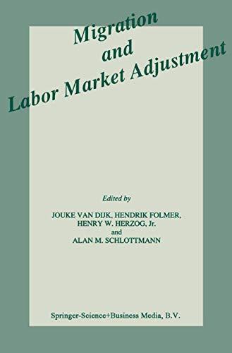 Migration and Labor Market Adjustment