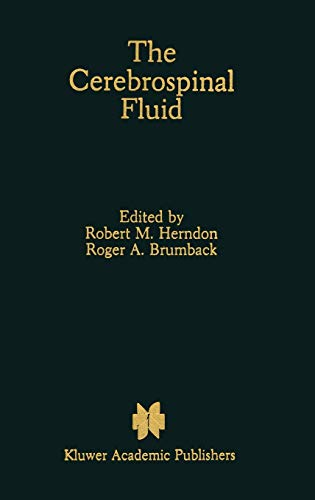 9780792301219: The Cerebrospinal Fluid