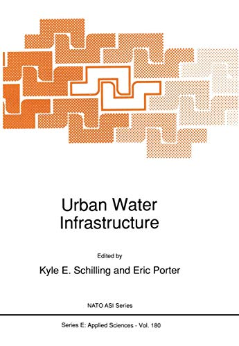 9780792306863: Urban Water Infrastructure (Nato Science Series E:)