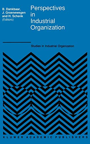 9780792308140: Perspectives in Industrial Organization (Studies in Industrial Organization)