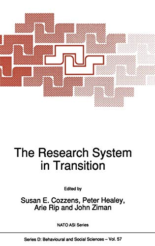 9780792308584: The Research System in Transition (Nato Science Series D:)